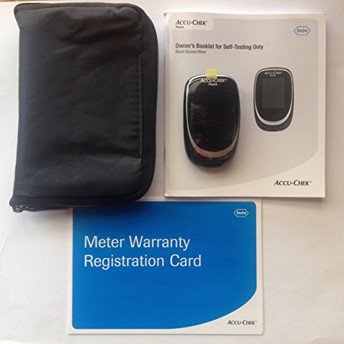 Accu-Chek Blood Glucose Meter, Manual and Case Only
