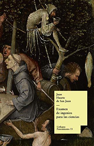 Examen de ingenios para las ciencias (Pensamiento nº 53) (Spanish Edition)