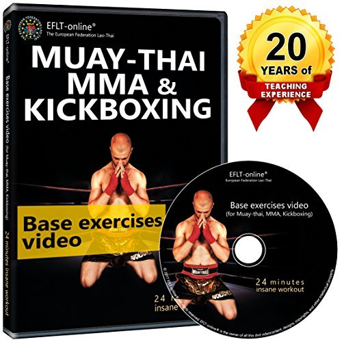 Kickboxing DVD Workout - Muay Thai Boxing MMA fitness videos - Cardio exercises (Boxing Material)