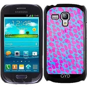 Funda para Samsung Galaxy S3 Mini (GT-I8190) - Guepardo Rosa Fluorescente by Ocdesignzz