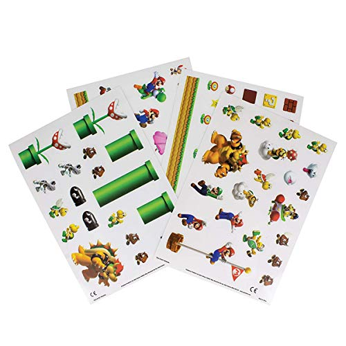 Paladone Super Mario Bros.- Gadget - Nintendo Sticker Sheet