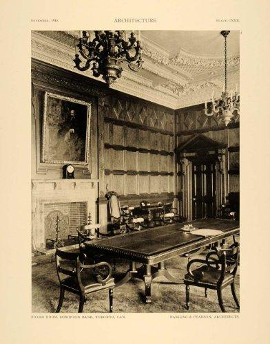 1915-print-dominion-bank-toronto-canada-darling-pearson-interior-decoration-original-halftone-print