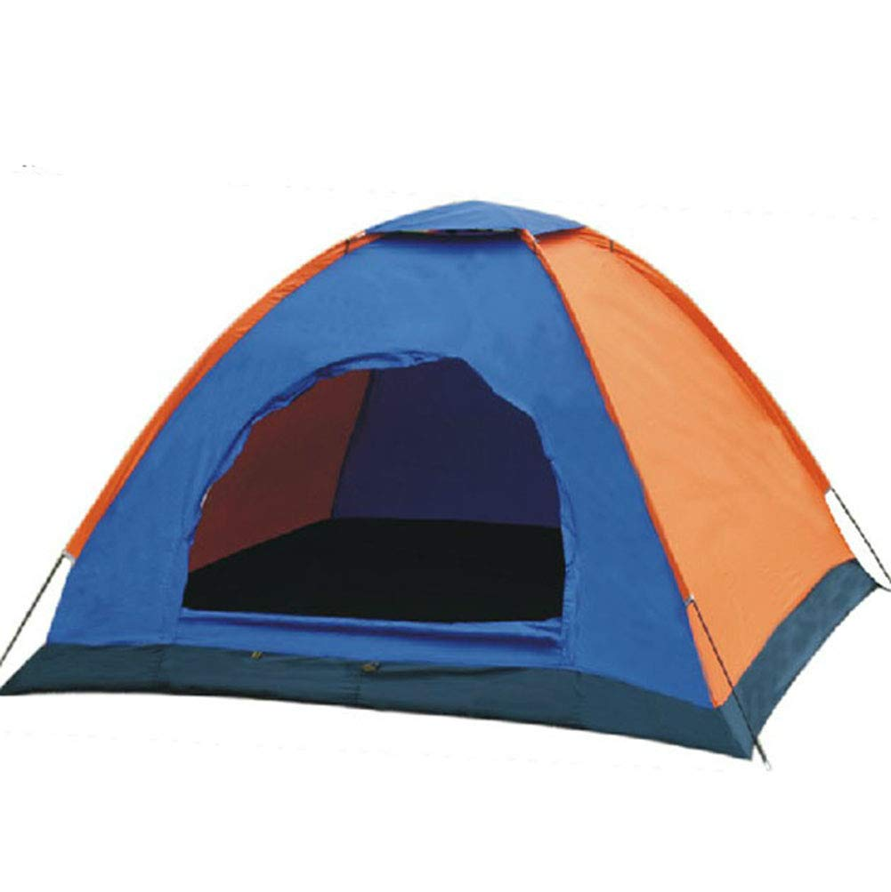 LWYJ Tragbare Camping Zelt 3-4 Person Beach Zelt Falten Wasserdicht Outdoor Dome Zelt für Wandern langbare Sets in Sekunden mit Carry Bag