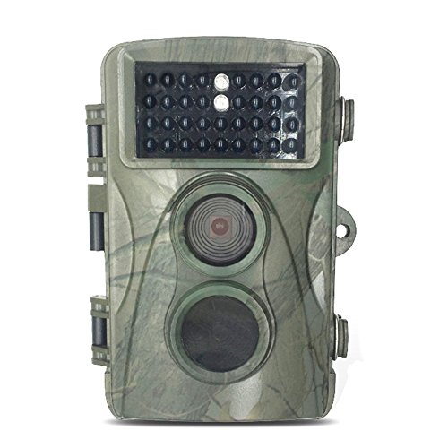 Hunting Trail Camera,Woopower Waterproof Outdoor H3 720P Detection Non Flash Hunting Camera Infrared Anti Theft Video Camera Trail Camera Game Wildlife IR PIR Motion Detection 0.6S Trigger Time by WOOPOWER
