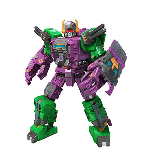 Transformers Toys Generations War for Cybertron: Earthrise Titan WFC-E25 Scorponok Triple Changer Action Figure - Kids Ages 8 and Up, 21-inch