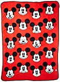 Jay Franco Plush Mickey Mouse Measures 62 x 90