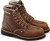 Thorogood 804-3696 Men's 1957 Series - 6'' Moc Toe, MAXWear90 Waterproof Safety Toe Boot, Crazyhorse - 11.5 M US