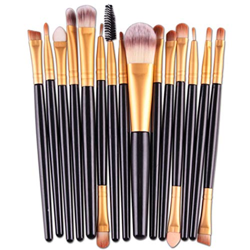 e6808a851ce2 Tiowea Makeup Brushes Set Cosmetic Foundation Eyeshadow Lip Brush Makeup  Tool Brush Sets
