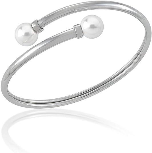Majorica Cane Armband 16000.01.0.000.010.1 Frau Silber Perle