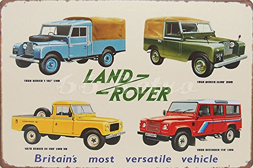 land-rover-britains-most-versatile-vehicle-metal-tin-sign-wall-decorative-sign-size-8-x-12