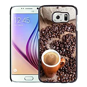 New Personalized Custom Designed For Samsung Galaxy S6 Phone Case For Coffee and Coffee Beans Phone Case Cover