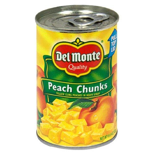 Del Monte Peach Chunks In Heavy Syrup, 15.25 oz