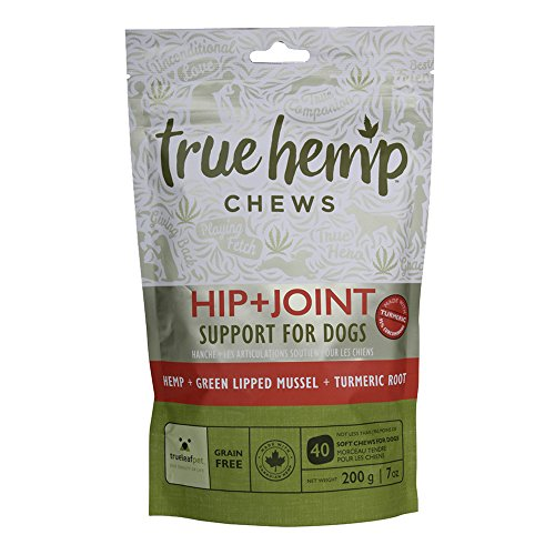 True-Leaf-Pet-40-Count-Hemp-Chews-Hip-Joint-Support-for-Dogs-7-oz
