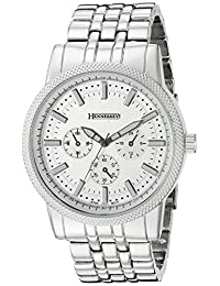 Hennessey Time Men's C7S Analog Display Analog Quartz Silver Watch
