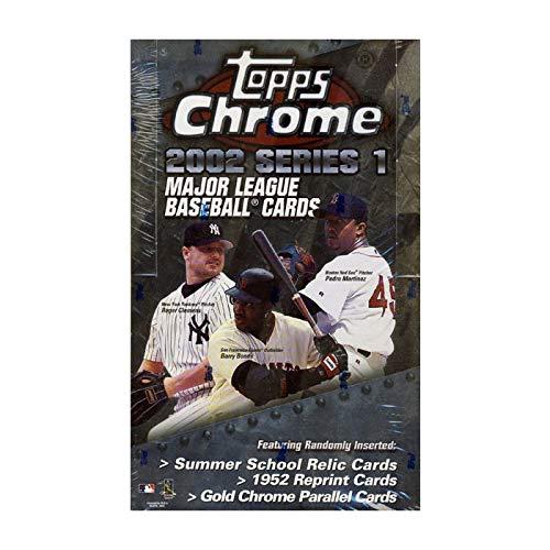2002 Topps 1952 Reprints - 2002 Topps Chrome Series 1 Baseball HOBBY Box - 24P4C