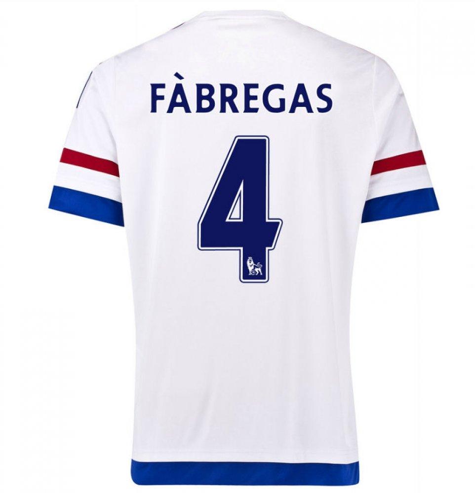 2015-2016 Chelsea Away Shirt (Fabregas 4) Kids B077VP1BDVLarge Boys 30-32\