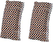 VOSAREA 2pcs Billiard Cue Shaft Cleaner Slicker Cloth Snooker Pool Cue Shaft Polisher