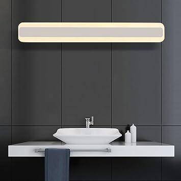 Warm Weiß LED Spiegel/Lampen Wasserdicht Anti Fog Badezimmer Lampe Moderne  Simplicity Wandleuchte