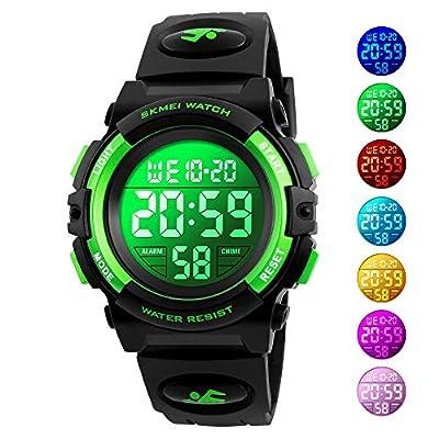 Kids Watch, Boys Sports Digital Waterproof Led Watches with Alarm Wrist Watches for Boy Girls Children from Misskt