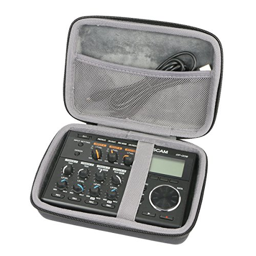 Price comparison product image Hard Travel Case for Tascam DP-006 Digital Portastudio Multitrack Recorder by co2CREA