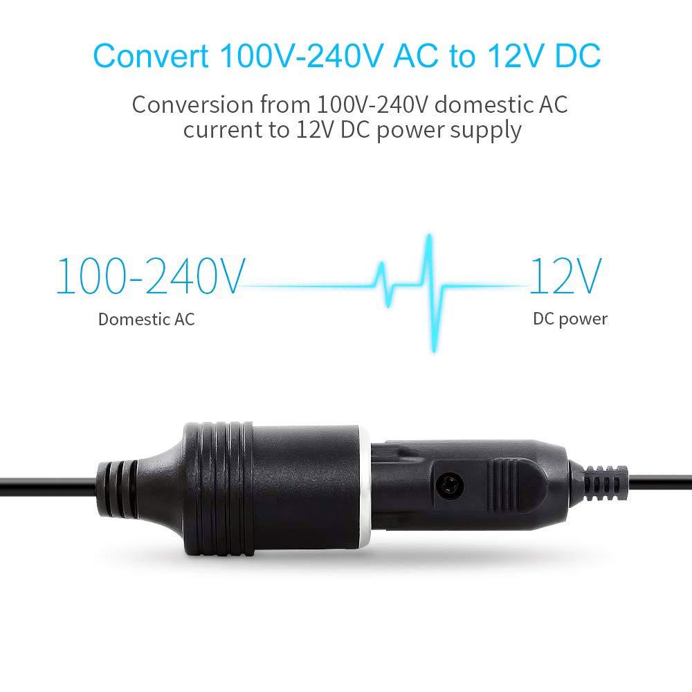 Amazon.es: Digit.Tail 12V/10A 120W Adaptador Transformadores de ...