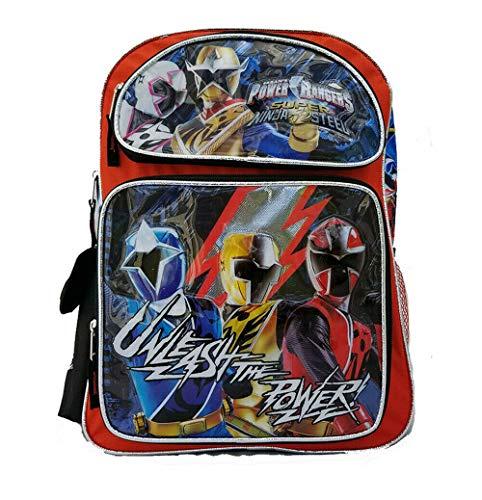 "16"" Large School Backpack Boy School Book Bag NEW"
