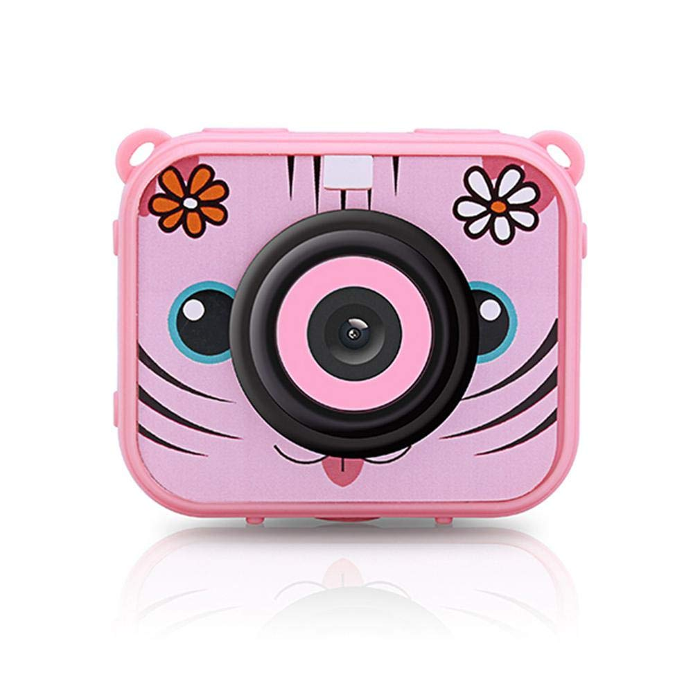 Teepao Kid Underwater Action Camera Kid Digital Camera 1080P Full HD 12MP Waterproof 30m 1.77'' LCD 90 Degree Wide-Angle Sports Camera with Rechargeable 900mAh Batteries for Girls Boys