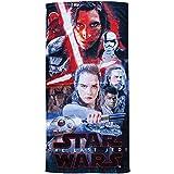 Disney Star Wars Conflict Last Jedi Beach Towel - Cotton 28 X 58 Pool Bath +