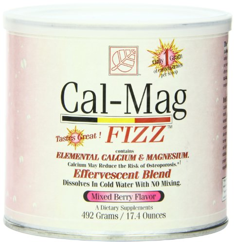 (Baywood Cal Mag Fizz Powder, Mixed Berry, 17.4 Ounce)