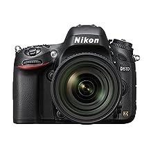 NIKON D610 24.3 MP CMOS FX-Format Digital SLR Camera with 24-85mm Lens