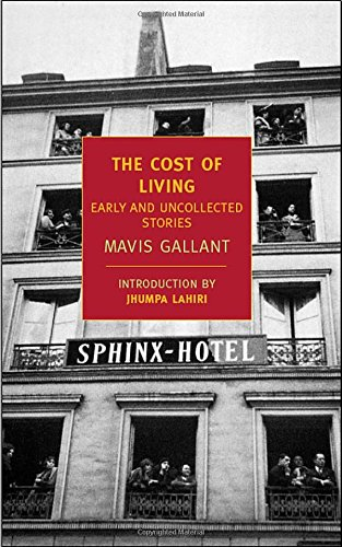 The Cost of Living: Early and Uncollected Stories (New York Review Books Classics)