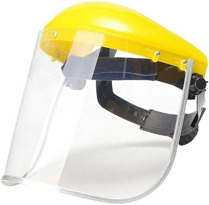 welding helmets Clear Head-mounted Face Eye Shield Screen Grinding