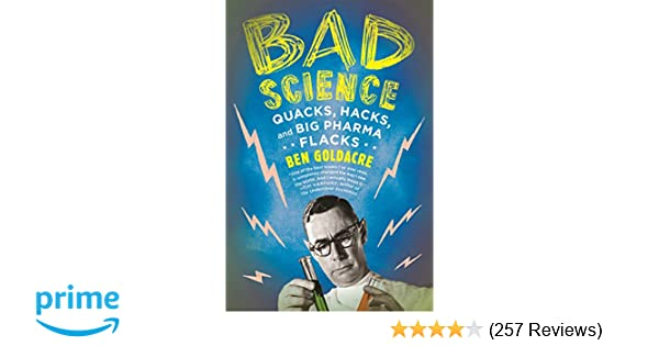 Review Shows Big Increase In Science >> Bad Science Quacks Hacks And Big Pharma Flacks Ben Goldacre