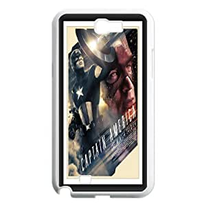DIY Printed Personlised Captain America 3 cover case For Samsung Galaxy Note 2 N7100 W5699398