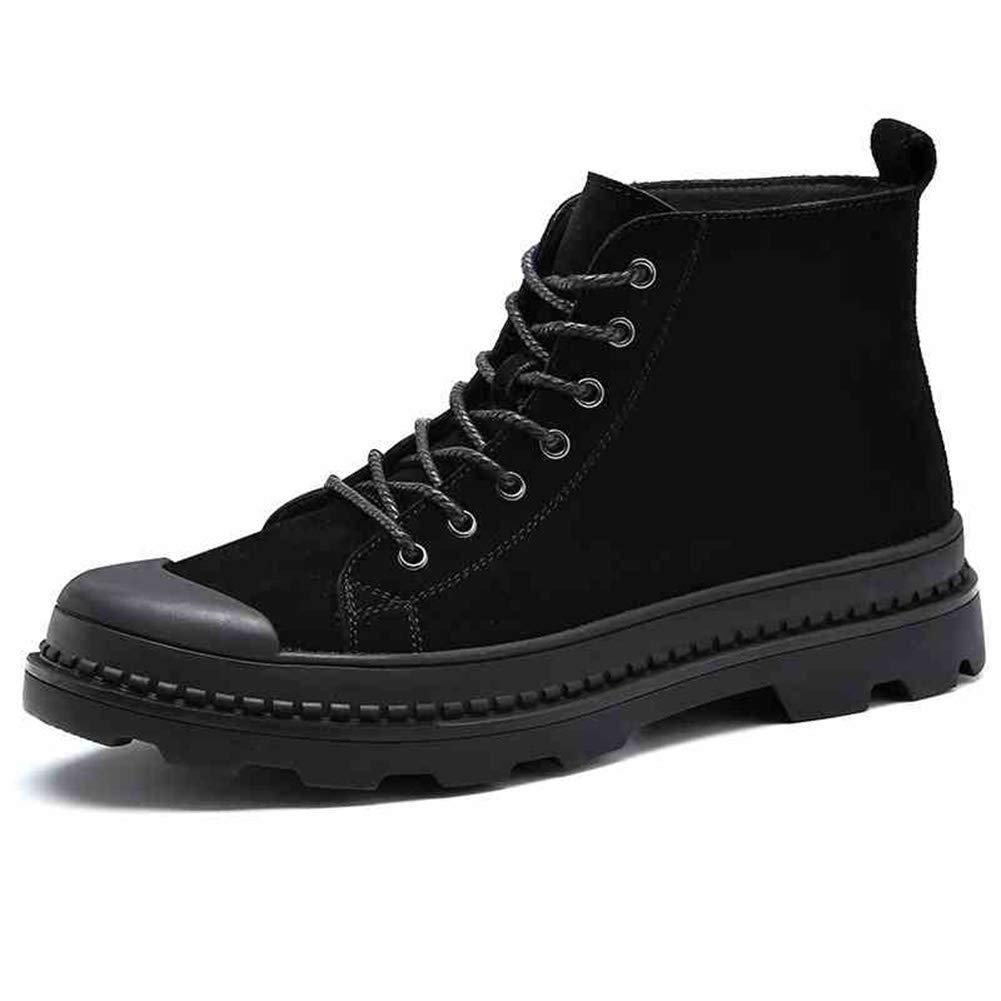 QIDI Martin Stiefel Männer Mode Eben Winter Warm Halten Stiefelies (größe   US9 EU40 UK7)