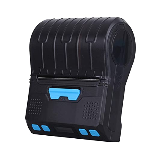 Impresora de Recibos térmicos, portátil y portátil, Mini Impresora ...