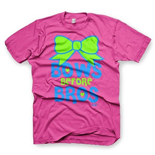 Bows Before Bros - Youth Medium - All Star Outfitters Cheerleading Apparel ()