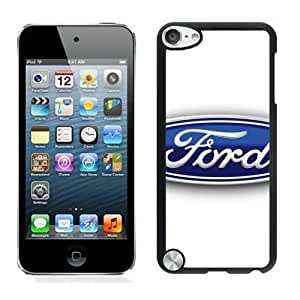 iPod Touch 5 Case ,Unique And Fashionable Designed Case With Ford logo 3 Black For iPod Touch 5 Phone Case