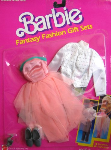 Barbie Fantasy Fashions - Ken & Barbie FORMAL DATE Fashion Outfits (1989 Arco Toys, Mattel) by Barbie