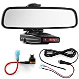 Radar Mount Mirror Mount + Direct Wire + Micro Add a Circuit - Escort 9500ix 8500x50 X70 S55