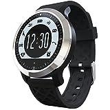 Relógio Smartwatch F69 Natação Prova D'água IP68 Batimentos Cardíacos Pedômetro Notificações de chamadas e SMS Bluetooth Ios Android (PRETO)