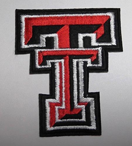 NCAA Texas Tech Red Raiders Team Crest Logo Patch