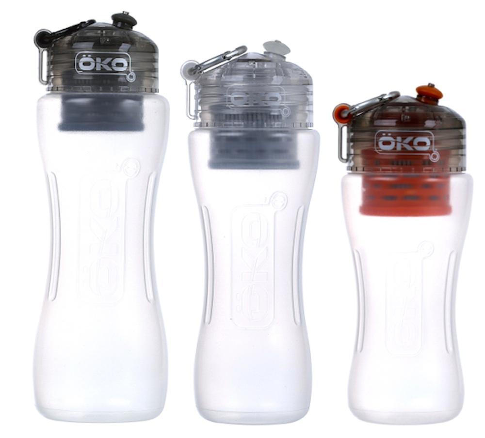 Amazon.com : OKO H2O Level-2 Advanced Filtration Water Bottle : Sports