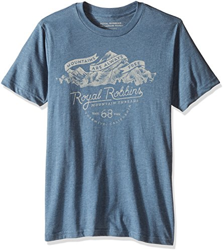 Royal Robbins Men's Mountains Are Free Tee