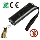 Pennyy Safe Ultrasonic Dog Repeller 3 in 1 Stop Bark Handheld Dog Training Device Animal Deterrent with Motion Activated for Dog and Cats