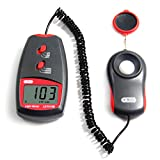 Dr.meter LX1010B Digital Illuminance/Light Meter, 0 - 100,000 Lux Luxmeter