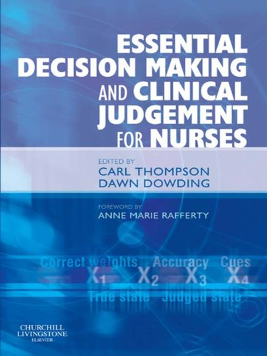 Download Essential Decision Making and Clinical Judgement for Nurses Pdf