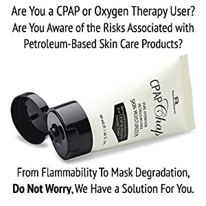 CPAP Chap Mask Face Cream - 1.4 oz Petroleum Free, Nose & Facial Lotion Moisturizer for CPAP Users | Prevent Skin Breakdown with Moisture Therapy