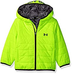 Under Armour Baby Boys' Feature Puffer, Fuel Green, 18 Months