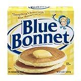 BLUE BONNET MARGARINE 16 OZ PACK OF 4